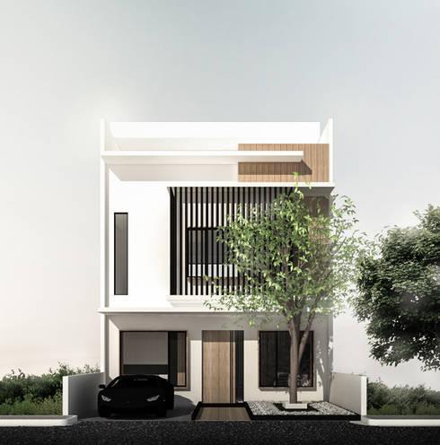 Mutiara Palace:  Rumah by KERA Design Studio