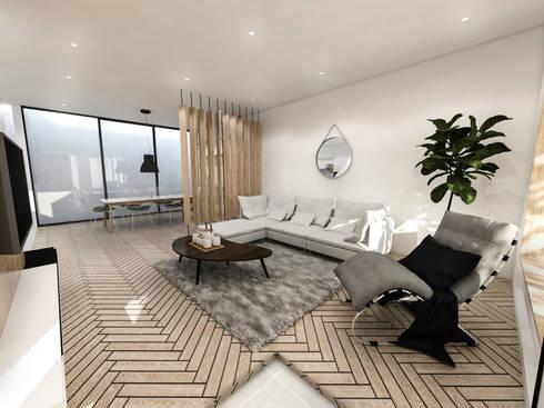 Mutiara Palace:  Ruang Keluarga by KERA Design Studio