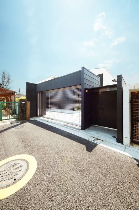 Projekty,  Domy zaprojektowane przez TERAJIMA ARCHITECTS