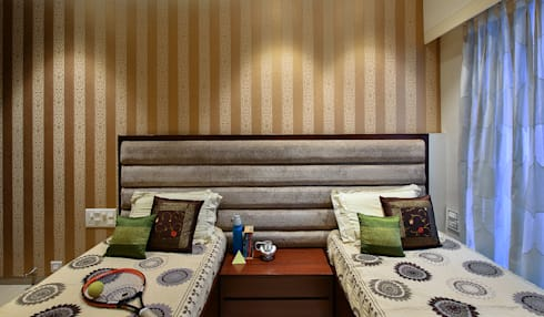 Khar Residence: modern Bedroom by SM Studio