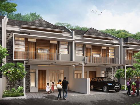 Grand Saturnus Residence:  Rumah tinggal  by Ashari Architect