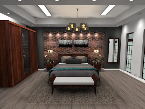 Main Bedroom:   by Effects Interior Design