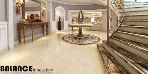 Stairs Foyer:   تنفيذ Balance Innovation