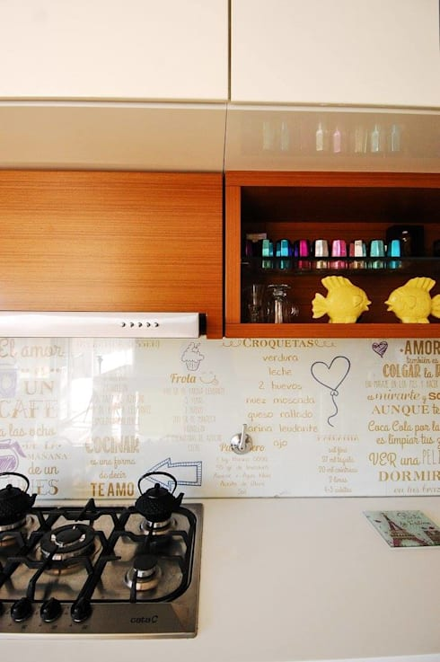 Mueble de Cocina.: Cocinas de estilo  por Dsg Arquitectura