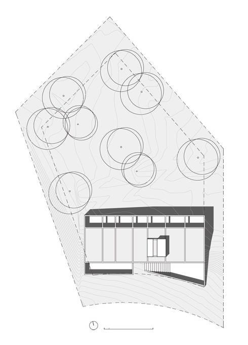 Casa LA: Casas de estilo moderno por BLTARQ  Barrera-Lozada