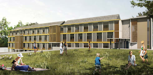 RANDU HOTEL & RESORT - CIKARANG, JAWA BARAT:  Hotels by IMG ARCHITECTS