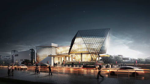 SPORTS CENTER - SOLO, JAWA TENGAH:  Ruang Komersial by IMG ARCHITECTS
