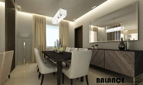 Dining Room Option:   تنفيذ Balance Innovation