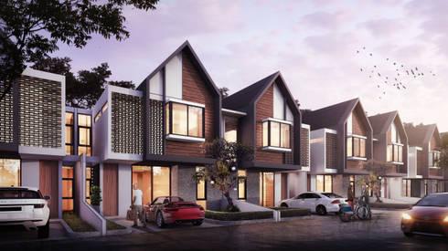 BEKASI HOUSING - BEKASI, JAWA BARAT:  Rumah by IMG ARCHITECTS