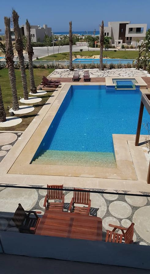 Landscape - Swimming Pool:   تنفيذ Balance Innovation