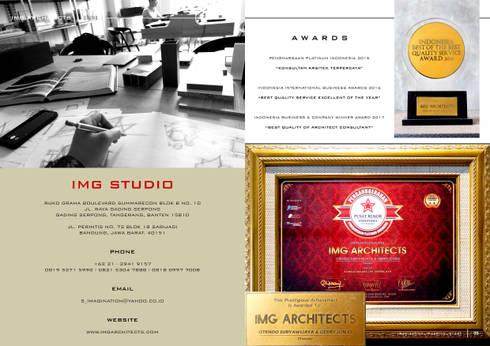 COMPANY PROFILE - AWARDS:  Gedung perkantoran by IMG ARCHITECTS