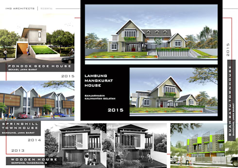 RESIDENTIAL:  Ruang Komersial by IMG ARCHITECTS