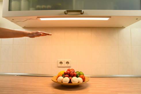 LED Unterbauleuchten und Leuchtmittel, bewegungsgesteuert dimmbar ...