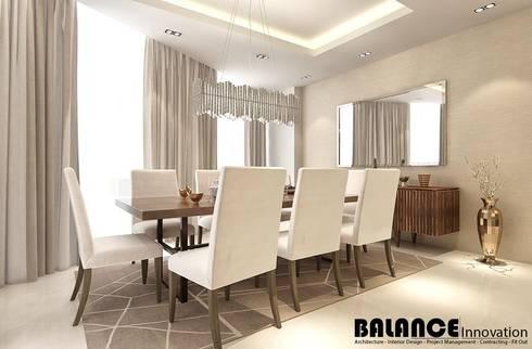 Dining:   تنفيذ Balance Innovation