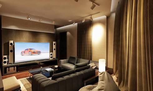 Cinema Room:   تنفيذ Balance Innovation
