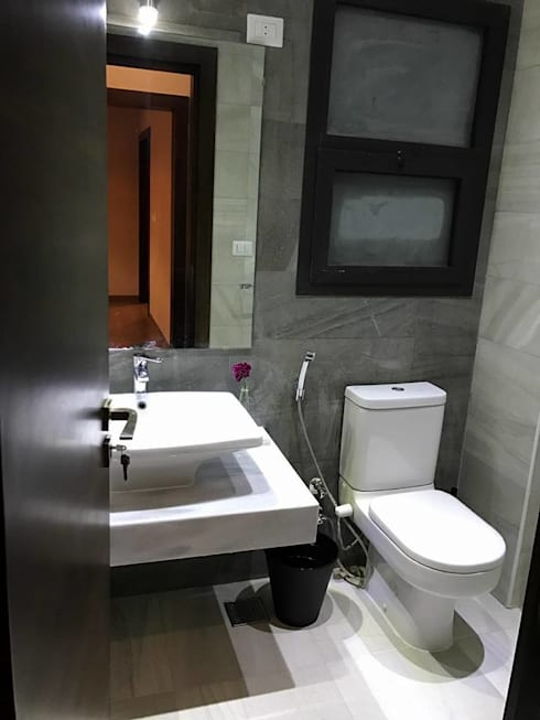 Guests Toilet:   تنفيذ Balance Innovation