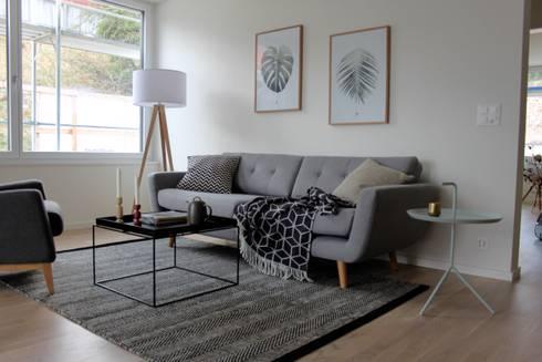 Möblierte Musterwohnung In Umiken Von Home Staging Nordisch | Homify