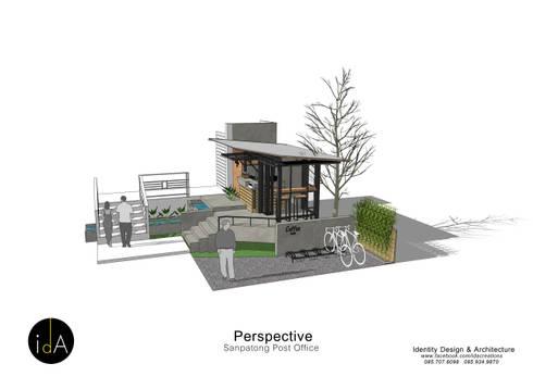 ร้านกาแฟ เบิกฟ้าตาสว่าง:  ร้านอาหาร by Identity Design & Architecture Part.,Ltd