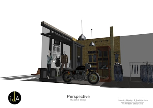 Mulisha shop:  Shopping Centres by Identity Design & Architecture Part.,Ltd