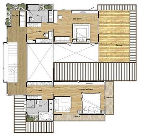 ผลงานการออกแบบ:   by รับออกแบบ เขียนแบบบ้าน