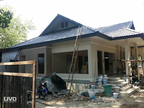 ผลงานการออกแบบบ้านพักอาศัย และควบคุมการก่อสร้าง โดย LIVD:   by LIVD
