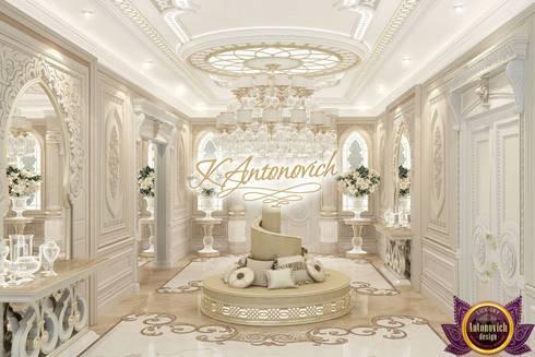   Luxurious interior design by Katrina Antonovich :  Corridor & hallway by Luxury Antonovich Design