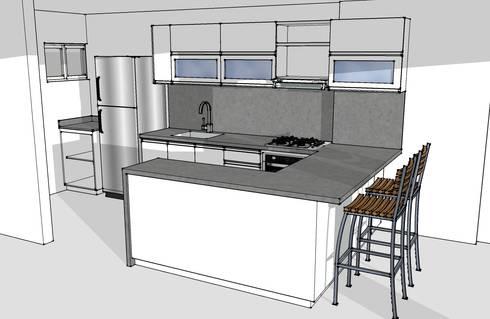 Lo primero un render de tu cocina 2 de remodelar for Remodelar cocina integral