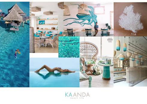 Kaanda bikini shop:  อาคารสำนักงาน ร้านค้า by Identity Design & Architecture Part.,Ltd