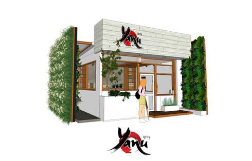 ร้านกาแฟ ญาณุ:  ร้านอาหาร by Identity Design & Architecture Part.,Ltd