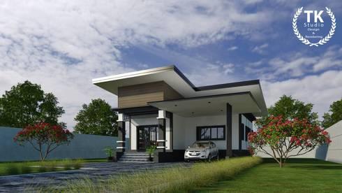 โครงการ บ้านชั้นเดียว จ.พังงา:   by TK STUDIO