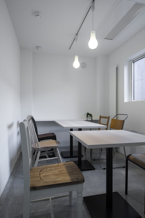 coneco bld.: 一色玲児 建築設計事務所 / ISSHIKI REIJI ARCHITECTSが手掛けたダイニングです。