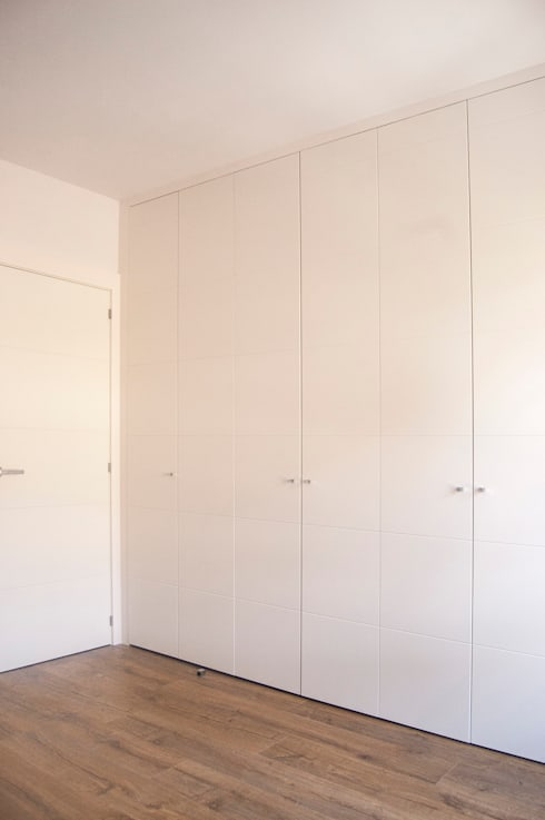 Habitación principal: Dormitorios de estilo  de Gumuzio&PRADA diseño e interiorismo