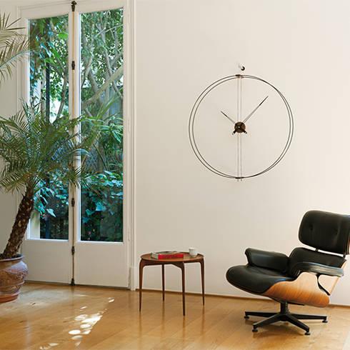 Nomon Barcelona Clock: modern Living room by Just For Clocks