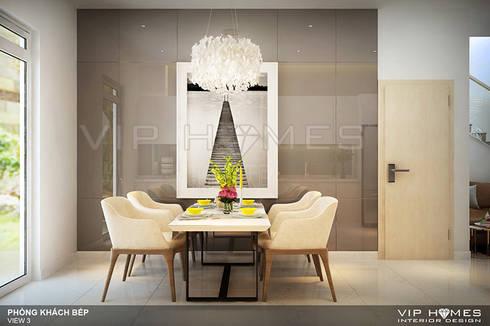 Thiết kế nội thất Villa MELOSA GARDEN:   by Công ty TNHH Không Gian Mo