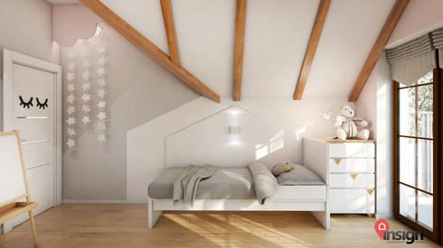 Waw_01: styl , w kategorii Pokój dziecięcy zaprojektowany przez InSign Pracownia Projektowa Karolina Wójcik