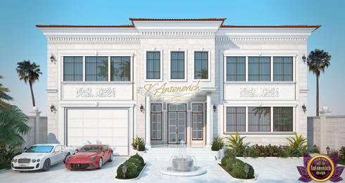   Facades Design by Katrina Antonovich: classic Houses by Luxury Antonovich Design