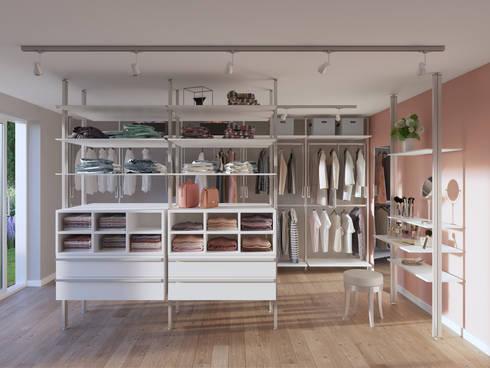 Begehbare Kleiderschränke von FRANK Schranksysteme GmbH & Co. KG ...