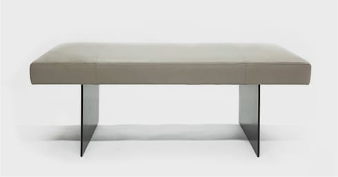Terra Bench : modern Living room by Aguirre Design