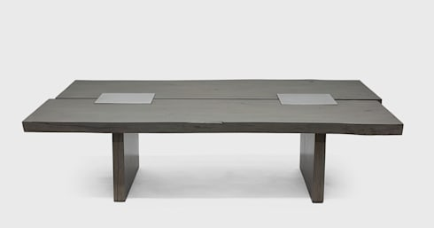 Berliner Coffee Table : modern Living room by Aguirre Design