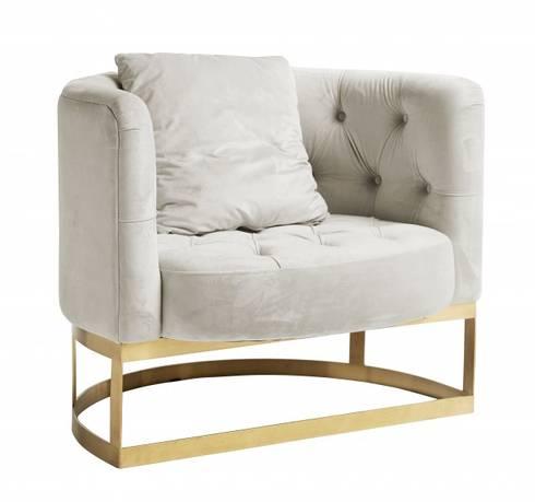 lorry lounge sessel samt metall von matz m bel homify. Black Bedroom Furniture Sets. Home Design Ideas