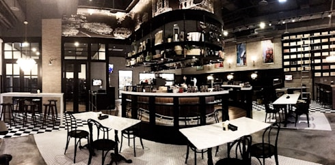 MATTONI CAFE:  商業空間 by X2 CREATE乘雙設計制造所