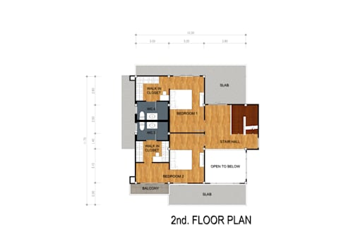 บ้าน 3 ชั้น ชุมแพ จ.ขอนแก่น:   by PRECIO HOUSE