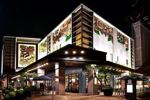 CAFFAINA 大墩店:  餐廳 by X2 CREATE乘雙設計制造所