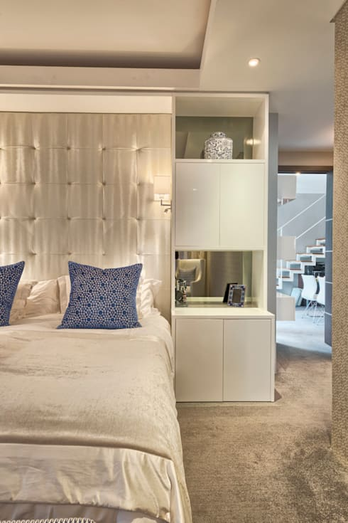 Rose St: eclectic Bedroom by House Couture Interior Design Studio