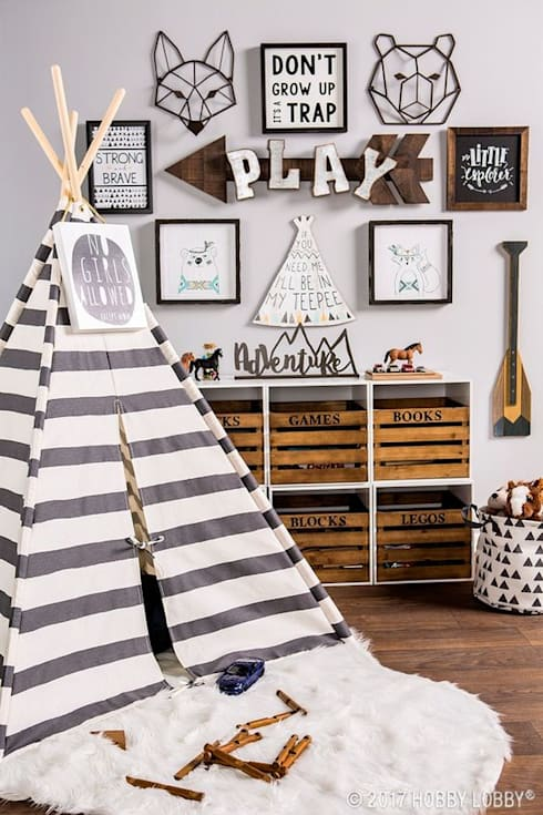 Inspiración para dormitorio infantil: Dormitorios infantiles  de estilo  por Vero Capotosto
