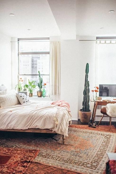 Inspiración para dormitorio: Dormitorios de estilo ecléctico por Vero Capotosto