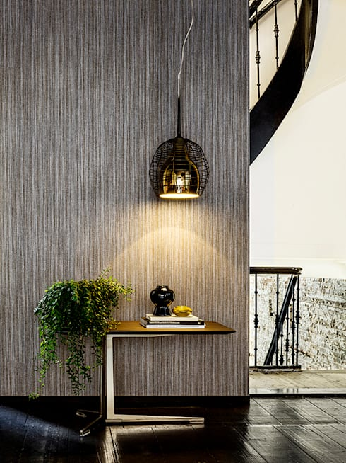 Mixed Moods Zen: Paredes y pisos de estilo clásico por BIANELLA