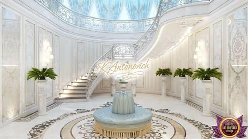 Luxury Interior from designer Katrina Antonovich:  Corridor & hallway by Luxury Antonovich Design
