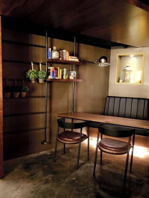 多那之咖啡概念館:  商業空間 by X2 CREATE乘雙設計制造所