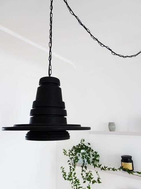 3 pièces - Fontenay-sous-Bois: Salle à manger de style de style Industriel par Sandrine Carré